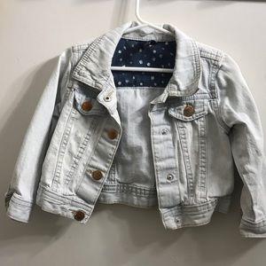 Little girls jean jacket